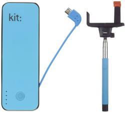 Kit Fashion 4500mAh & Selfie Stick PWR4BT
