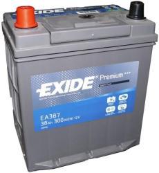 Exide Premium 38Ah EN 300A borna inversa (EA387)