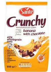 Sante Crunchy gabonapehely banánnal és csokoládéval (350g)