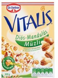 Dr. Oetker Vitalis diós-mandulás müzli (300g)
