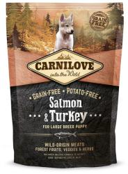 CARNILOVE Large Breed Puppy - Salmon & Turkey 1,5kg