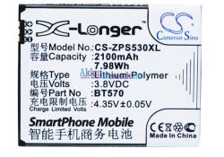 Utángyártott ZOPO Li-Polymer 2100 mAh BT570
