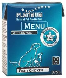 PLATINUM Menu - Fish & Chicken 375g