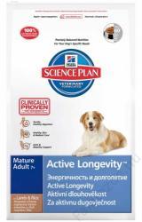 Hill's SP Active Longevity Mature Adult 7+ Lamb & Rice 4x12kg