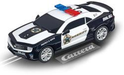 Carrera Go!!! Chevrolet Camaro Sheriff 1/43 pályaautó 20064031