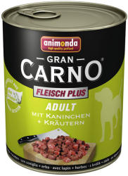 Animonda GranCarno Adult - Rabbit & Herbals 6x800g
