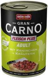 Animonda GranCarno Adult - Rabbit & Herbals 400g