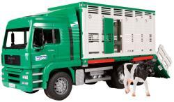 BRUDER MAN állatszállító teherautó (02749)