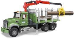 BRUDER MACK Granite rönkszállító teherautó