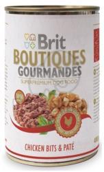 Brit Boutiques Gourmandes Chicken Bits & Paté 12x400g