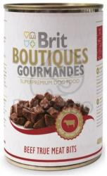 Brit Boutiques Gourmandes Beef True Meat Bits 12x400g