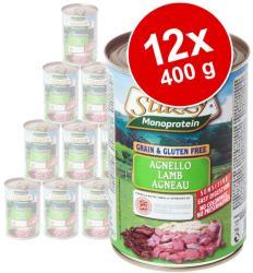 Stuzzy Monoprotein - Lamb 12x400g