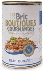 Brit Boutiques Gourmandes Rabbit True Meat Bits 12x400g