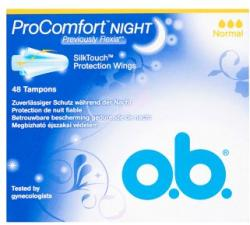 o.b. ProComfort Night Normal tampon (48db)