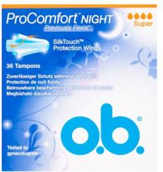 o.b. ProComfort Night Super tampon (36db)