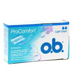 o.b. ProComfort Light Days tampon (16db)