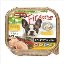 Panzi Fit Active Pate - Poultry & Veal 6x150g
