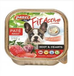 Panzi Fit Active Pate - Beef & Hearts 12x150g