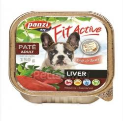 Panzi Fit Active Pate - Liver 12x150g