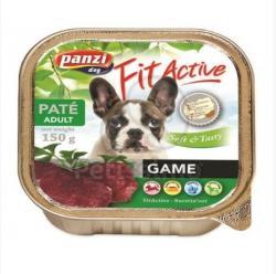 Panzi Fit Active Pate - Venison/Game 12x150g