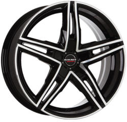 Borbet XRS black polished glossy 5/108 19x8.5 ET45