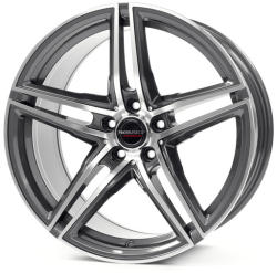 Borbet XRT graphite polished CB57.06 5/112 18x8 ET45
