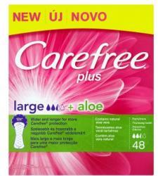 Carefree Plus Large + Aloe tisztasági betét (48db)