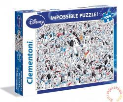 Clementoni A lehetetlen puzzle - 101 Kiskutya 1000 db-os (39358)
