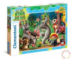 Clementoni Super Color Puzzle - Julien király 104 db-os (27960)