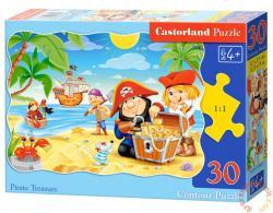 Castorland Kalózok kincse 30 db-os (B-03488)