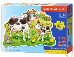 Castorland Maxi Puzzle - Bocik a legelőn 12 db-os (B-120062)