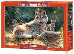 Castorland Farkas a kicsinyeivel 1500 db-os (C-151400)