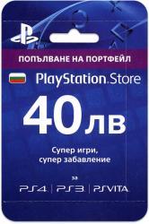 PS Network предплатена карта - 40 лв