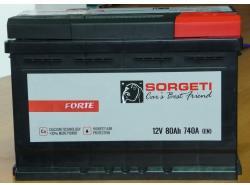 Sorgeti Forte 80Ah 740A
