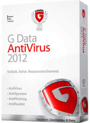 G DATA AntiVirus 2012 Retail Box (3 User, 1 Year) 70578