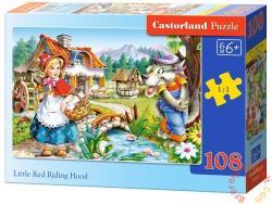 Castorland Piroska és a farkas 108 db-os (B-010080)