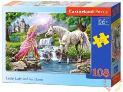 Castorland A hercegnő és a lova 108 db-os (B-010158)