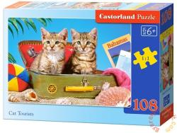 Castorland Utazó cicák 108 db-os (B-010141)