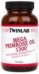 Twinlab Mega Primrose Oil kapszula - 60 db