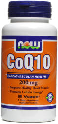 NOW CoQ10 200mg kapszula - 60 db