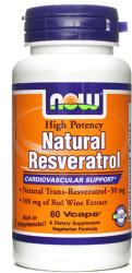 NOW Natural Resveratrol 200mg kapszula - 60 db