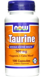 NOW Taurine 500mg kapszula - 100 db
