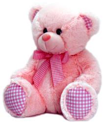 Keel Toys Rózsaszín maci 25cm