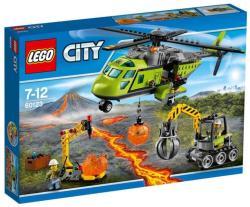 LEGO City - Vulkánkutató szállítóhelikopter (60123)