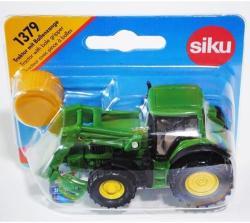 Siku Traktor rakodóval (1379)