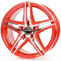 Borbet XRT racetrack red polished 5/120 18x8 ET35