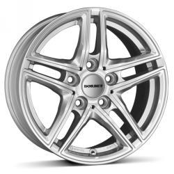 Borbet XR brilliant silver CB72.5 5/120 17x8 ET30