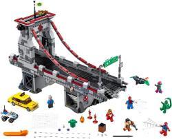 LEGO Marvel Super Heroes - Pókember - Pókháló-harcosok utolsó csatája a hídon (76057)
