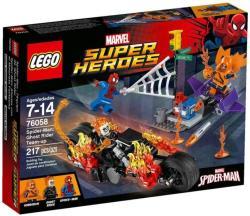 LEGO Marvel Super Heroes - Pókember - Összefogás Szellemlovassal (76058)
