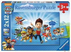 Ravensburger Mancs őrjárat 2x12 db-os (07586)